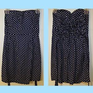 Japanese Polka Dot Mini Dress
